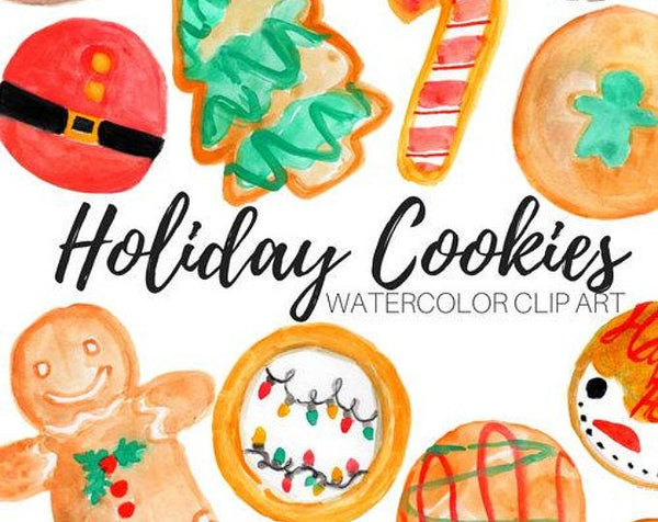 Holiday Christmas Cookie clipart