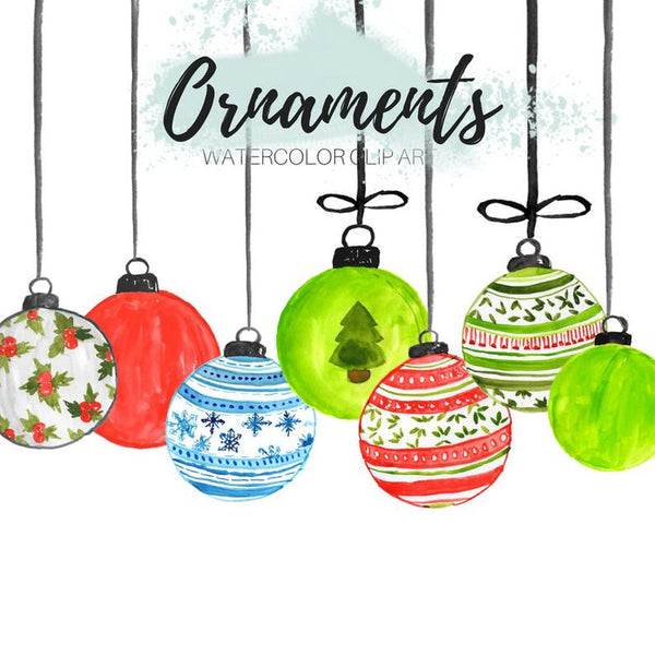 Christmas ornament holiday clipart
