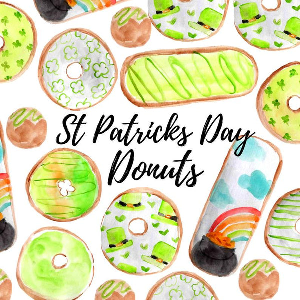 Saint Patrick's Day Donut Clipart