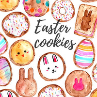 Easter cookie clipart