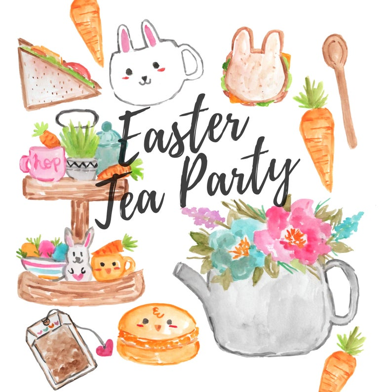 Easter tea party