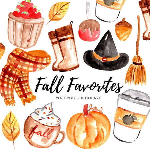 Fall favorite clipart
