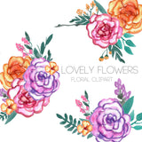 Lovely Floral Clipart