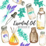 Essential Oil Clip Art