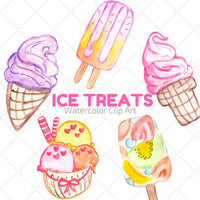 Ice Cream Summer Clip Art