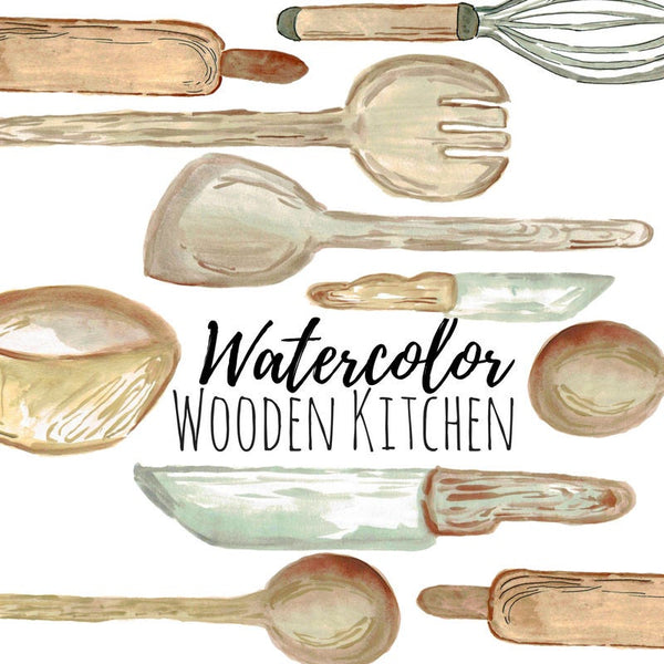Wood kitchen Cooking Clip Art
