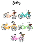 Bike bicycle clipart