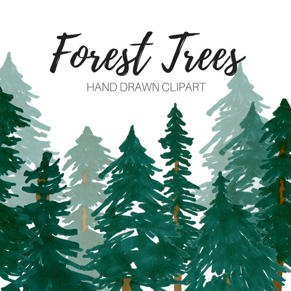 Forest Tree Clip Art