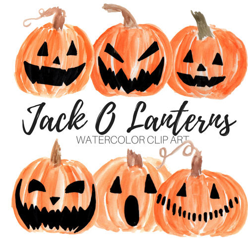 Halloween pumpkin  jackolanterns clipart