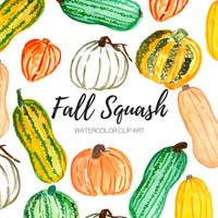 Fall autumn squash Clip Art