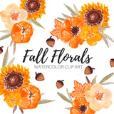 Fall flower clip art