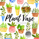 plotted plant clipart