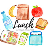 lunch food clip art