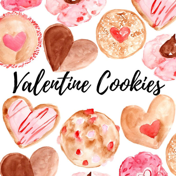 Valentines day cookie clip art