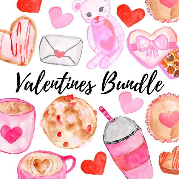 Valentines Clipart Bundle