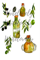 Olive Oil Clipart