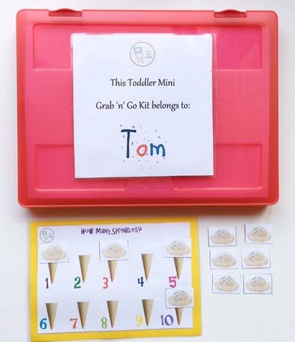 TODDLER MINI - Grab n Go Kit