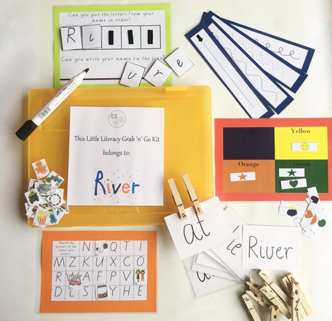 Mini Literacy - Grab n Go Kit