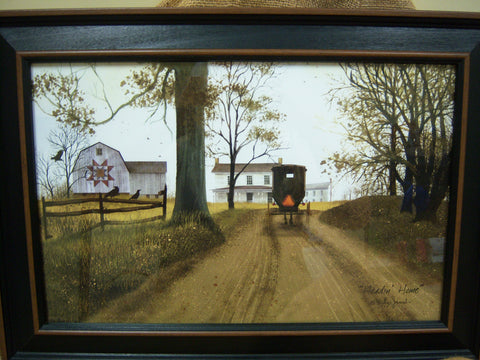 "Billy Jacobs ""Headin Home"" - 11x17 Framed Print"