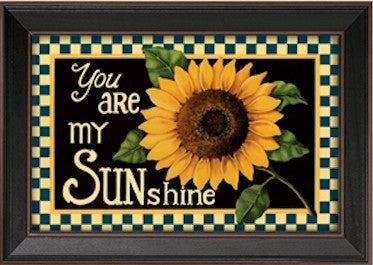 "You Are My Sunshine Framed Print - 11""x17"""