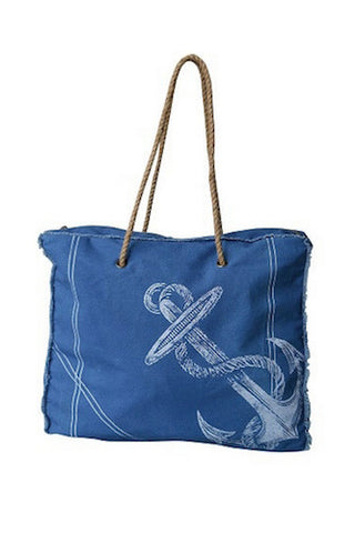 Canvas Beach Tote