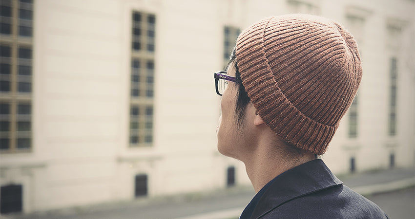A well-fitting beanie