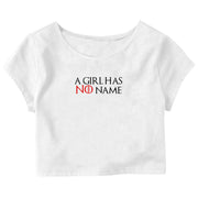 A Girl Has No Name Crop Top