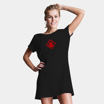 Spiderman-Stealth Logo T-Shirt Dress