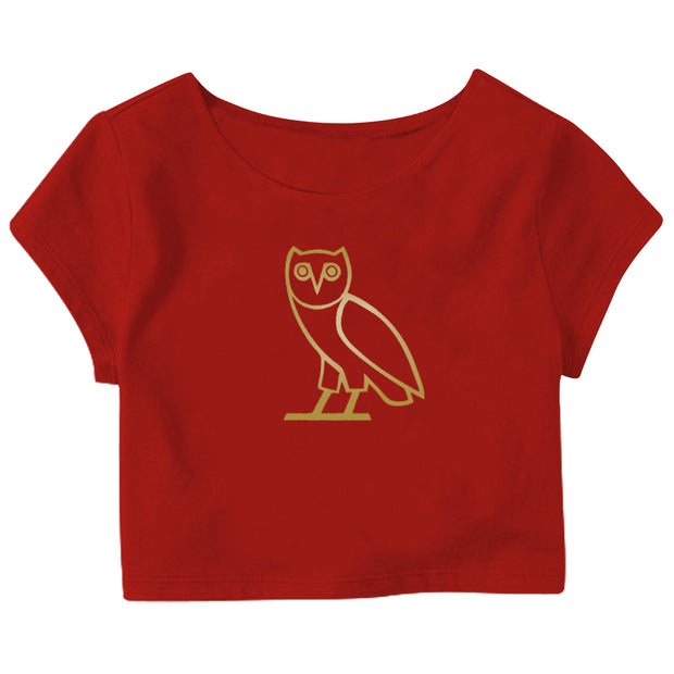 Drake Ovo Owl Crop Top