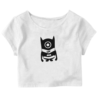 Bat Minion Crop Top
