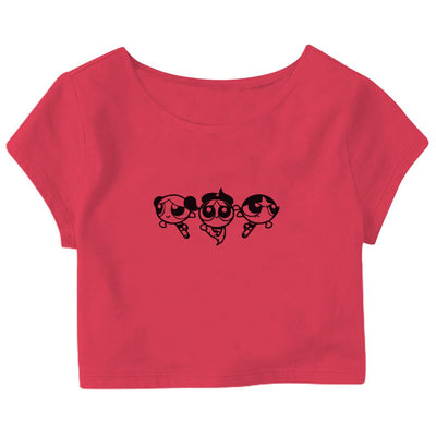 The Powerpuff Girls Crop Top