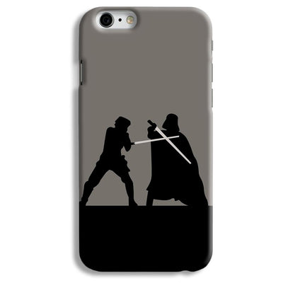 Luke vs Vader iPhone 6 Case
