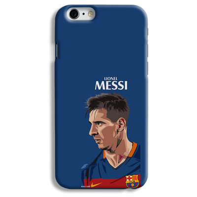 Messi Blue iPhone 6 Case