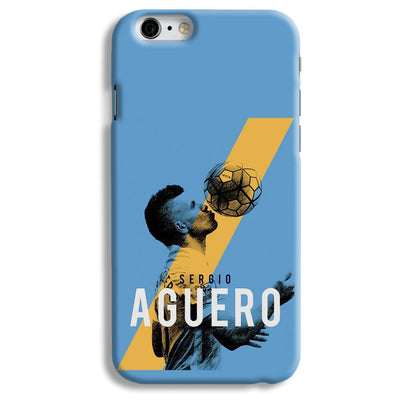 Sergio Aguero iPhone 6 Case