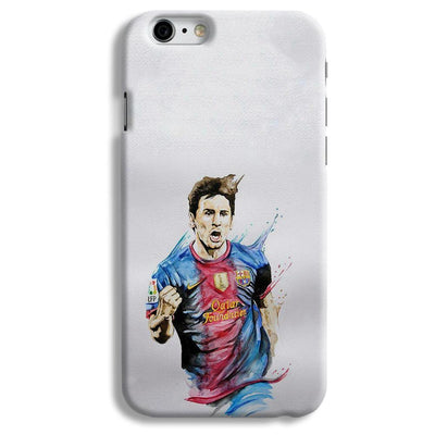 Messi White iPhone 6 Case