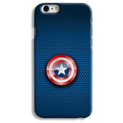 Captain America Logo iPhone 6 Case