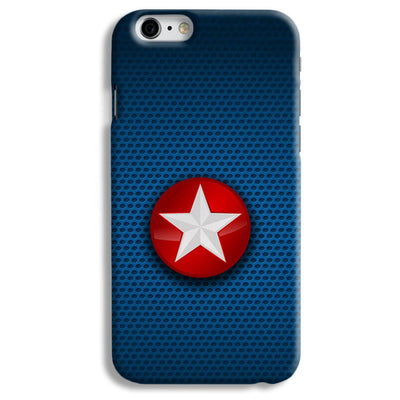 Captain America Side Star iPhone 6 Case