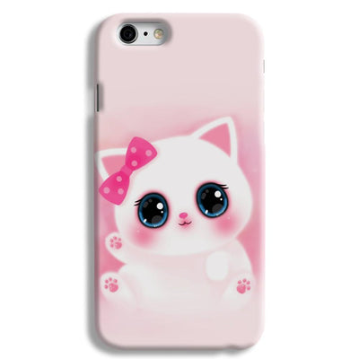 Pink Cat iPhone 6 Case