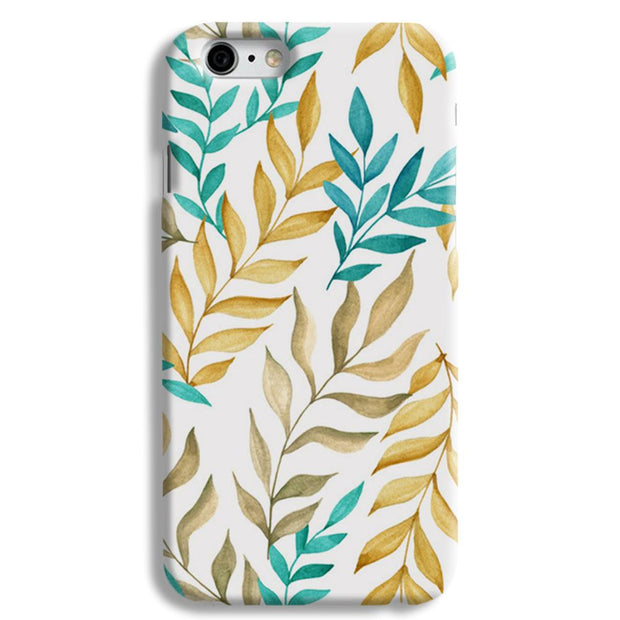 Tropical leaves  iPhone 6 Case
