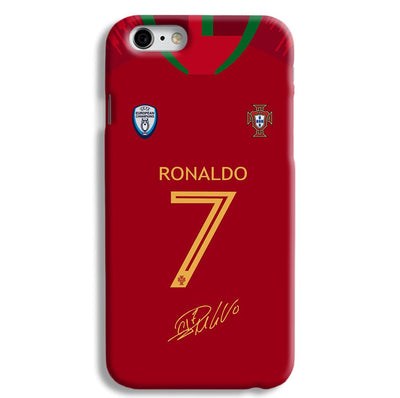 Ronaldo Jersy iPhone 6 Case