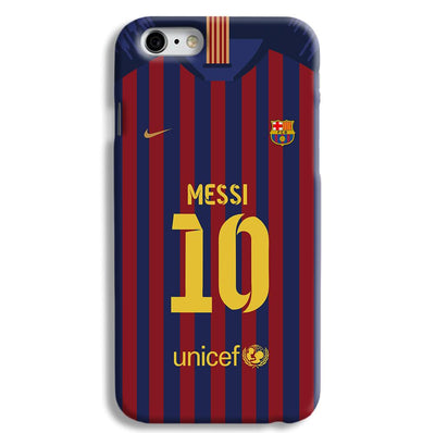 Messi (FC Barcelona) Jersey iPhone 6 Case