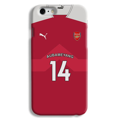 Aubameyang Jersey iPhone 6 Case
