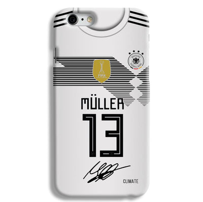Muller Jersey iPhone 6 Case