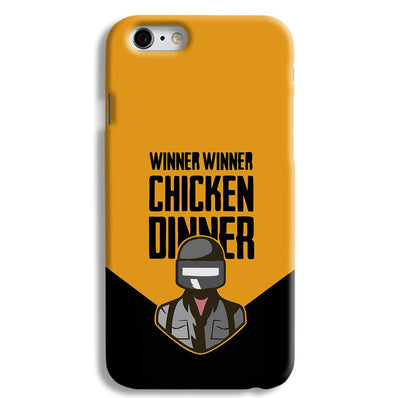 Pubg Chicken Dinner iPhone 6 Case