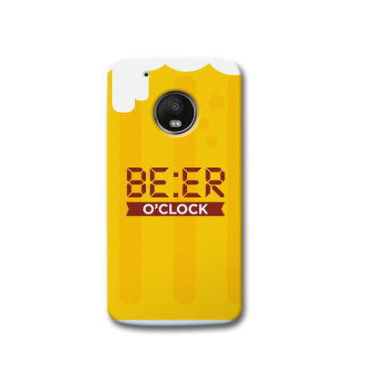Beer O' Clock Moto G5s Case