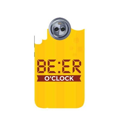 Beer O' Clock Moto X4 Case