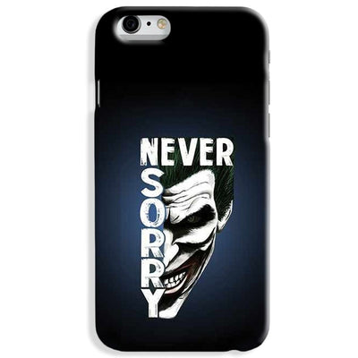 Never Sorry iPhone 7 Case