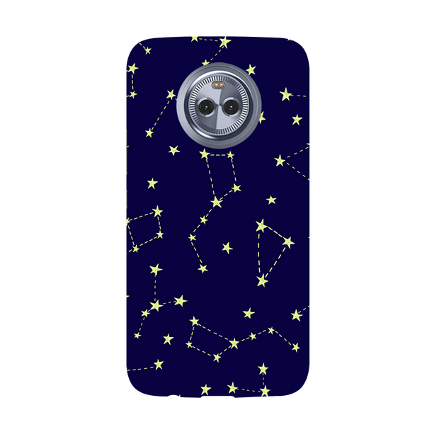 Constellation Blue Moto X4 Case