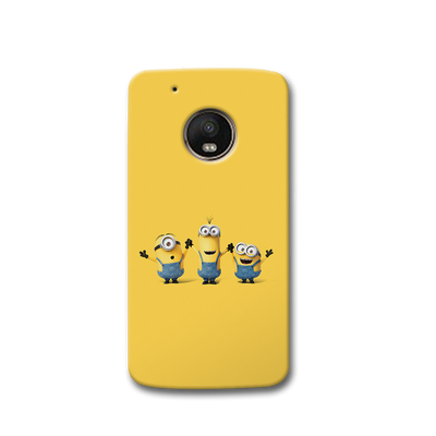 Three Minions Moto G5s Case