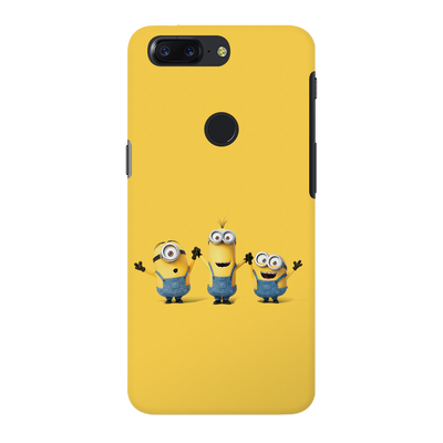 Three Minions OnePlus 5T Case
